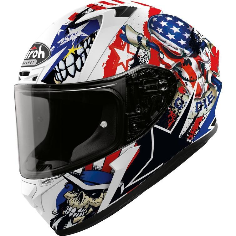 Airoh Valor Uncle Sam Motorcycle Helmet