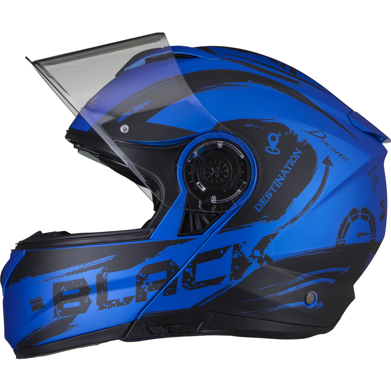 Zoan Adult Optimus Eclipse Motorcycle Modular Helmet All Colors XS-3XL