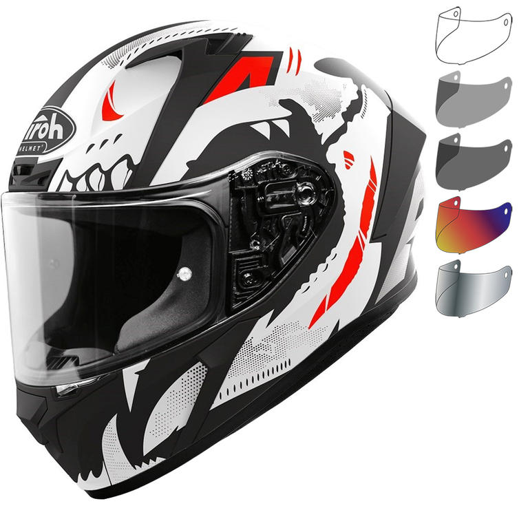 Airoh Valor Nexy Motorcycle Helmet & Visor