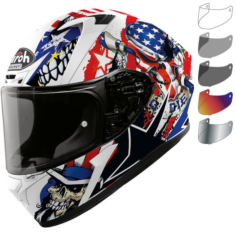 Airoh Valor Uncle Sam Motorcycle Helmet & Visor