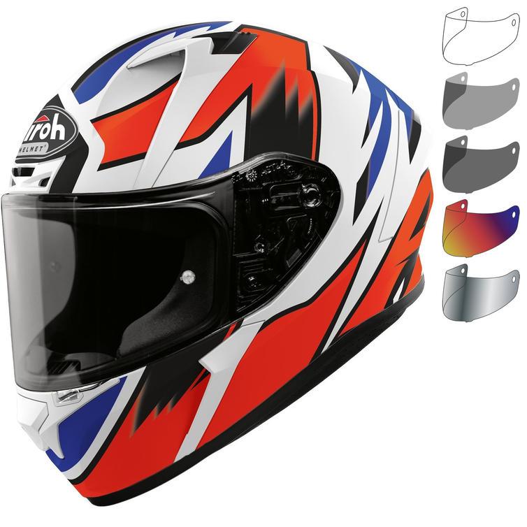 Airoh Valor Zanetti Replica Motorcycle Helmet & Visor