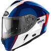 Airoh Spark Flow Motorcycle Helmet & Visor Thumbnail 4