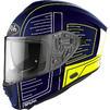 Airoh Spark Cyrcuit Motorcycle Helmet & Visor Thumbnail 4