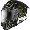 Airoh Spark Cyrcuit Motorcycle Helmet & Visor Thumbnail 6
