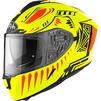 Airoh Spark Vibe Motorcycle Helmet & Visor Thumbnail 4