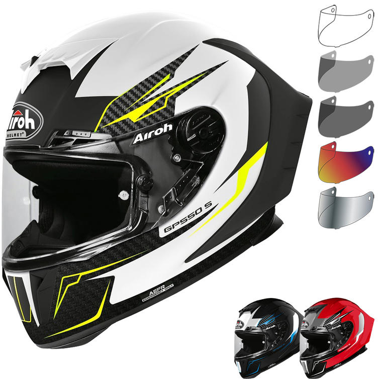 Airoh GP550S Venom Motorcycle Helmet & Visor