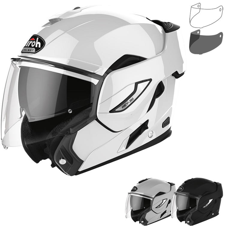 Airoh Rev 19 Color Flip Front Motorcycle Helmet & Visor