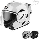 Airoh Rev 19 Color Flip Front Motorcycle Helmet & Visor
