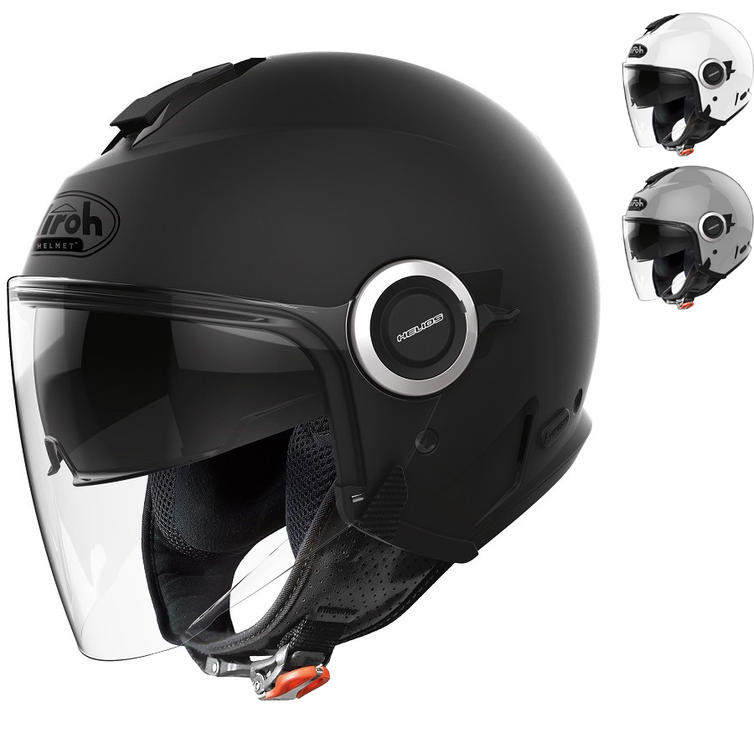 Airoh Helios Color Open Face Motorcycle Helmet