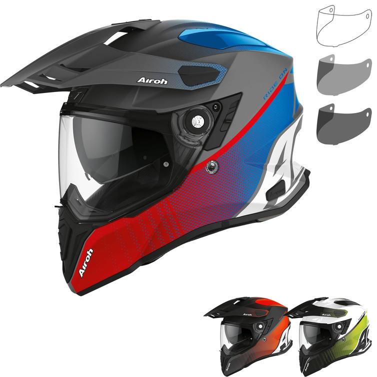 Airoh Commander Progress Dual Sport Helmet & Visor
