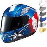 HJC RPHA 11 Captain America Motorcycle Helmet & Visor
