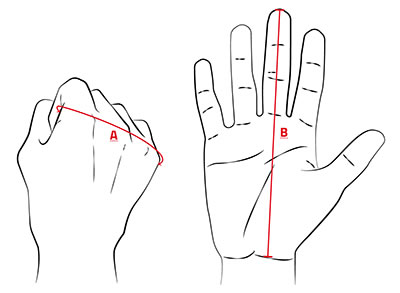 Knox Hand Measuring Guide