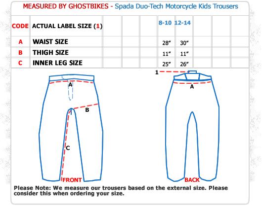 Spada Duo-Tech Junior Motorcycle Trousers