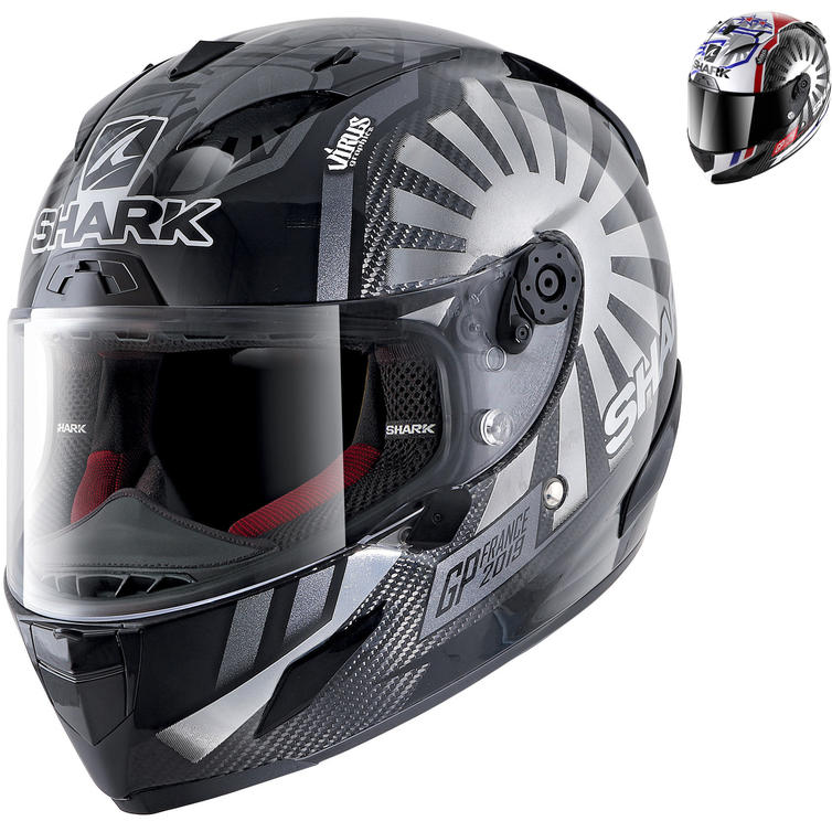 Shark Race-R Pro Carbon Zarco France GP 2019 Replica Motorcycle Helmet