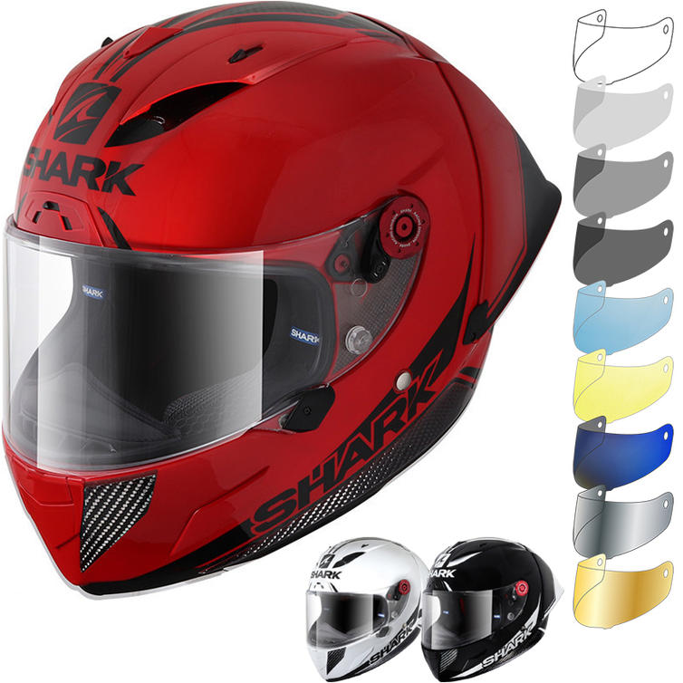 Shark Race-R Pro GP 30th Anniversary Motorcycle Helmet & Visor