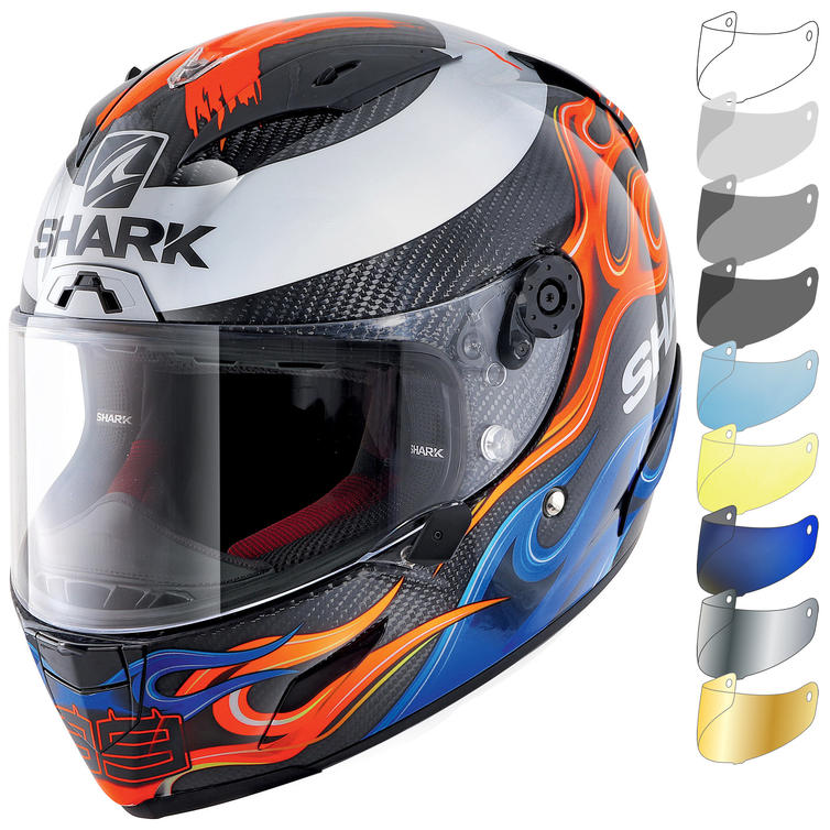 Shark Race-R Pro Carbon Lorenzo 2019 Replica Motorcycle Helmet & Visor