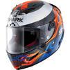 Shark Race-R Pro Carbon Lorenzo 2019 Replica Motorcycle Helmet & Visor Thumbnail 4