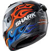 Shark Race-R Pro Carbon Lorenzo 2019 Replica Motorcycle Helmet & Visor Thumbnail 6