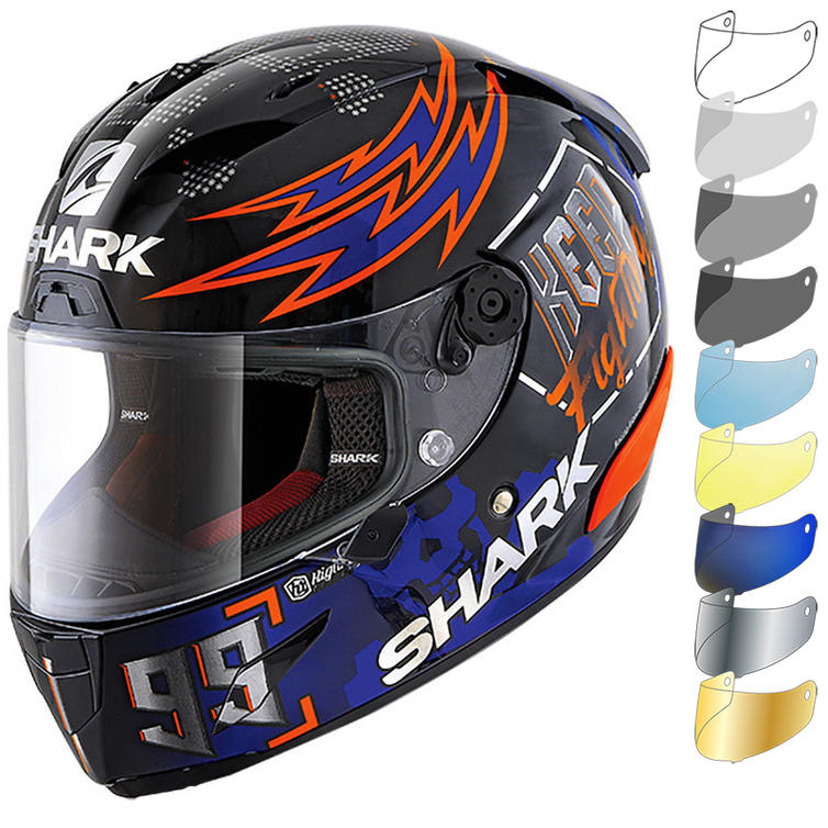 Shark Race-R Pro Lorenzo Catalunya GP 2019 Replica Motorcycle Helmet & Visor