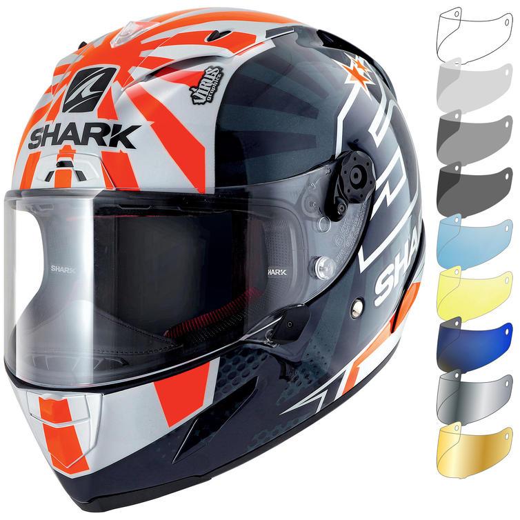 Shark Race-R Pro Zarco 2019 Replica Motorcycle Helmet & Visor