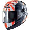 Shark Race-R Pro Zarco 2019 Replica Motorcycle Helmet & Visor Thumbnail 4