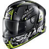 Shark Skwal 2.2 Noxxys Motorcycle Helmet & Visor Thumbnail 8