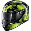 Shark Skwal 2.2 Venger Motorcycle Helmet & Visor Thumbnail 6
