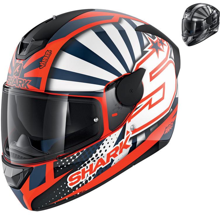 Shark D-Skwal 2 Zarco Replica Motorcycle Helmet