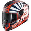 Shark D-Skwal 2 Zarco Replica Motorcycle Helmet Thumbnail 3
