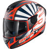 Shark D-Skwal 2 Zarco Replica Motorcycle Helmet & Visor Thumbnail 4