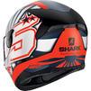 Shark D-Skwal 2 Zarco Replica Motorcycle Helmet & Visor Thumbnail 8