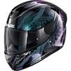 Shark D-Skwal 2 Shigan Motorcycle Helmet & Visor Thumbnail 5