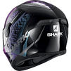 Shark D-Skwal 2 Shigan Motorcycle Helmet & Visor Thumbnail 11