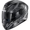 Shark D-Skwal 2 Shigan Motorcycle Helmet & Visor Thumbnail 6
