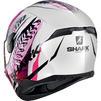 Shark D-Skwal 2 Shigan Motorcycle Helmet & Visor Thumbnail 10