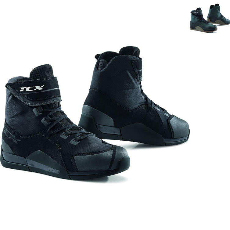 TCX District Waterproof Motorcycle Boots