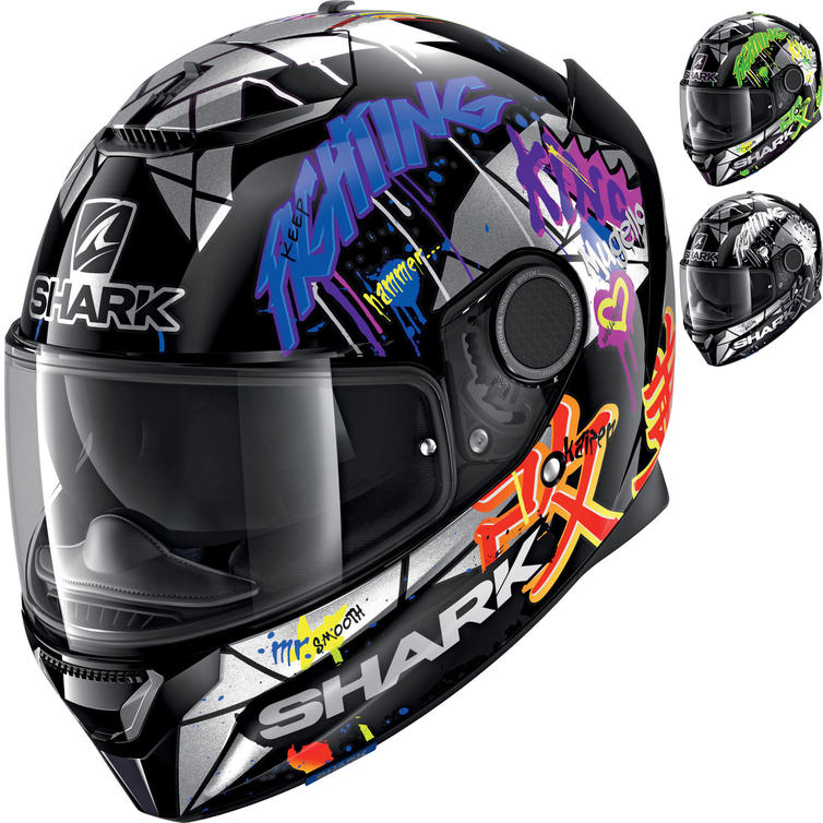 Shark Spartan Lorenzo Catalunya GP Replica Motorcycle Helmet