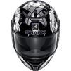 Shark Spartan Lorenzo Catalunya GP Replica Motorcycle Helmet Thumbnail 8