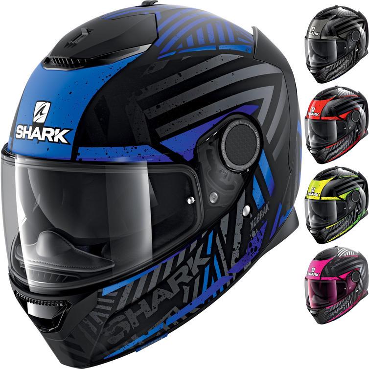 Shark Spartan Kobrak Motorcycle Helmet