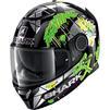 Shark Spartan Lorenzo Catalunya GP Replica Motorcycle Helmet & Visor Thumbnail 4