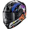 Shark Spartan Lorenzo Catalunya GP Replica Motorcycle Helmet & Visor Thumbnail 6