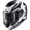 Shark Spartan Antheon Motorcycle Helmet & Visor Thumbnail 6
