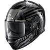 Shark Spartan Kobrak Motorcycle Helmet & Visor Thumbnail 6