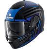 Shark Spartan Kobrak Motorcycle Helmet & Visor Thumbnail 7