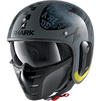 Shark S-Drak 2 Tripp In Open Face Motorcycle Helmet Thumbnail 5