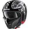 Shark S-Drak 2 Tripp In Open Face Motorcycle Helmet Thumbnail 6