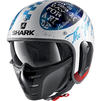 Shark S-Drak 2 Tripp In Open Face Motorcycle Helmet Thumbnail 4