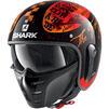 Shark S-Drak 2 Tripp In Open Face Motorcycle Helmet & Visor Thumbnail 6