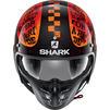 Shark S-Drak 2 Tripp In Open Face Motorcycle Helmet & Visor Thumbnail 10