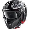 Shark S-Drak 2 Tripp In Open Face Motorcycle Helmet & Visor Thumbnail 7